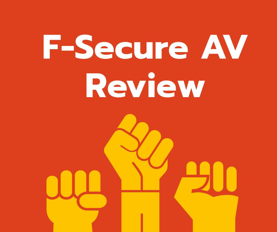 F-secure Antivirus Review